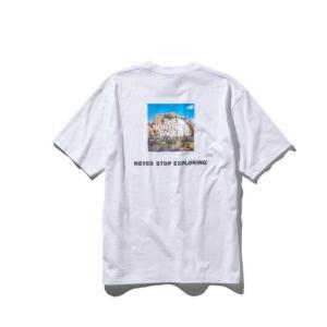 ノースフェイス Tシャツ 半袖 メンズ S/S ショートスリーブスクエアロゴジョシュアツリーティー NT31952 od|himarayaod