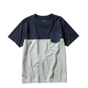 ノースフェイス Tシャツ 半袖 メンズ S/S 2 Tone Pocket Tee トーン ポケット ティー NT31949 UN THE NORTH FACE od|himarayaod
