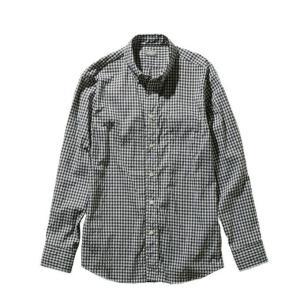 ノースフェイス 長袖シャツ メンズ ロングスリーブヒデンバリーシャツ L/S Hidden Valley Shirt NR11966 BG od|himarayaod