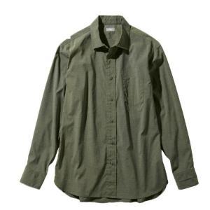 ノースフェイス 長袖シャツ メンズ L/S Vernal Shirt ロングスリーブバーナルシャツ NR11958 NL od|himarayaod