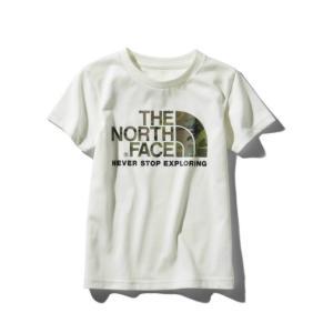 ノースフェイス 半袖シャツ ジュニア S/S Camo Logo Tee ショートスリーブカモロゴティー NTJ31992 THE NORTH FACE  od|himarayaod