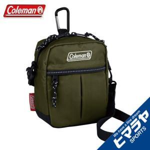 コールマン ショルダーバッグ メンズ レディース キューブ オリーブリーフ 2000034397 Coleman od|himarayaod