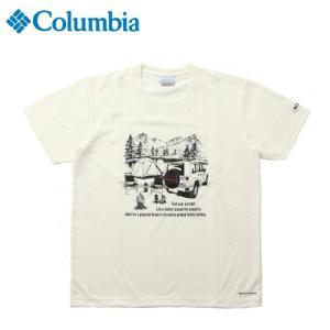 コロンビア Tシャツ 半袖 メンズ ヤハラフォレスト SS クルー ショートスリーブ PM1525 125 Columbia od|himarayaod