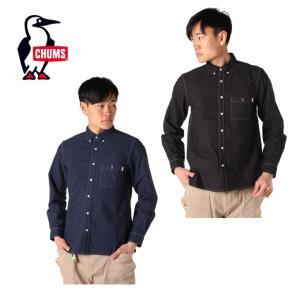 チャムス CHUMS 長袖シャツ メンズ ガーメントダイオックスシャツ CH02-1100 od|himarayaod