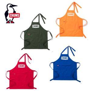 チャムス CHUMS エプロン メンズ レディース Boat Logo Apron ボートロゴエプロン キャンプ用品 クッキング用具 CH09-1140 od|himarayaod