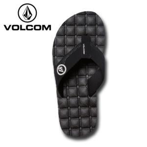 ボルコム VOLCOM ビーチサンダル メンズ Recliner Sandal リクライナー サンダル V0811520-BWH od|himarayaod
