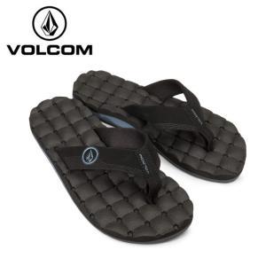 ボルコム VOLCOM ビーチサンダル メンズ Recliner Sandal リクライナー サンダル V0811520-BLB od|himarayaod