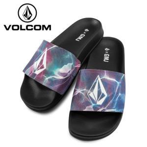 ボルコム VOLCOM シャワーサンダル レディース GMJ Slide ジーエムジェー スライド W0811908-BLK od|himarayaod
