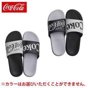コカコーラ Coca-Cola シャワーサンダル メンズ レディース E4 CC19CS4 od|himarayaod
