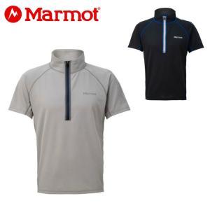 マーモット Marmot 半袖シャツ メンズ クライム3250ハーフスリーブジップ TOMNJA65 od|himarayaod