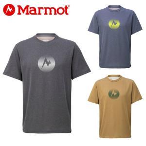 マーモット Marmot Tシャツ 半袖 メンズ Heather Mark H/S Crew ヘザーマークハーフスリーブクルー TOMNJA51 od|himarayaod