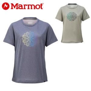 マーモット Marmot Tシャツ 半袖 レディース W's Aquilegia H/S Crew ウィメンズアクレギアハーフスリーブクルー TOWNJA62 od|himarayaod