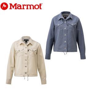 マーモット Marmot 長袖シャツ レディース W's Denim Shirt ウィメンズデニムシャツ TOWNJB79YY od|himarayaod