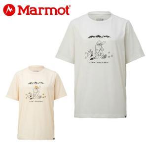 マーモット Marmot Tシャツ 半袖 レディース ウィメンズマーモットティータイムハーフスリーブクルー TOWNJA56YY od|himarayaod
