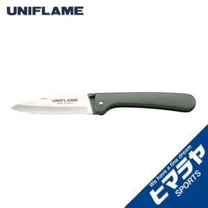 ユニフレーム UNIFLAME 調理器具 包丁 ギザ刃 キャンプナイフ 661840 od|himarayaod