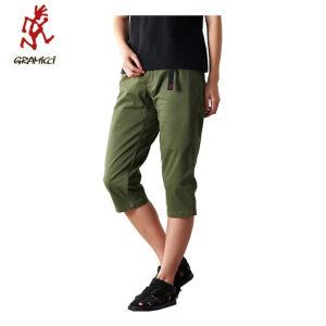グラミチ Gramicci クロップドパンツ レディース MIDDLE CUT PANTS ミドルカットパンツ women's GUP-19S004 OLIVE od|himarayaod