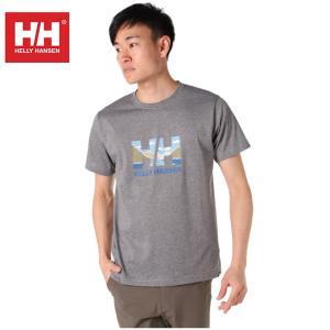 ヘリーハンセン HELLY HANSEN Tシャツ 半袖 メンズ Graphic Logo Tee グラフィック ロゴ HOEV61901 Z od|himarayaod