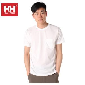 ヘリーハンセン HELLY HANSEN Tシャツ 半袖 メンズ Plain Pocket Tee プレイン ポケット HOEV61902 W od|himarayaod