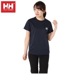 ヘリーハンセン HELLY HANSEN Tシャツ 半袖 レディース スマイルロゴ HOEV61900W HB od|himarayaod