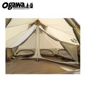 オガワテント OGAWA テント インナーテント グロッケ8用 ハーフインナー 3574 od|himarayaod