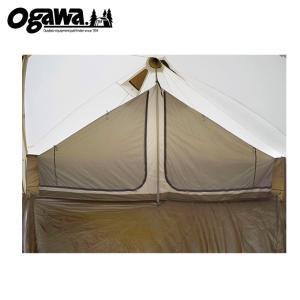 オガワテント OGAWA テント インナーテント グロッケ12 ハーフインナー 3573 od|himarayaod