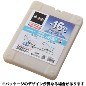 ロゴス LOGOS 保冷剤 氷点下パックGT-16℃・ハード1200g 81660611 od himarayaod