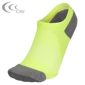 シースリーフィット C3fit 陸上ランニング ウェア アクセサリー 靴下 メンズ・レディース アーチサポートアンクルソックス 3F65100-FY run himarayarunning
