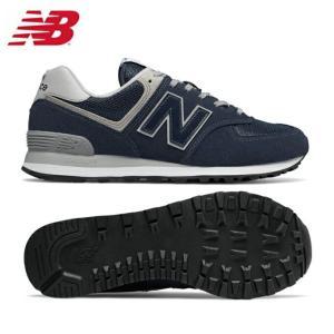 【送料無料】 ニューバランス スニーカー メンズ レディース ML574EGN new balance ウォーキング カジュアルシューズ ネイビー NAVY 街歩き タウンユース 靴 run|himarayarunning|02