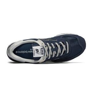 【送料無料】 ニューバランス スニーカー メンズ レディース ML574EGN new balance シューズ ネイビー NAVY 靴 run|himarayarunning|04