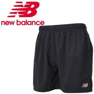 ニューバランス ショートパンツ メンズ レディース R360 5インチショーツ インナーなし JMSR8620 BK new balance run|himarayarunning