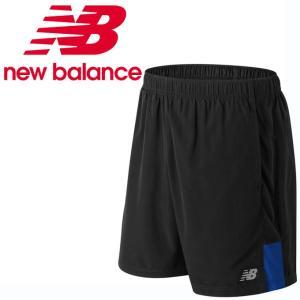 ニューバランス ショートパンツ メンズ レディース アクセレレイト7インチショーツ インナー付き AMS81281 TRY new balance run|himarayarunning
