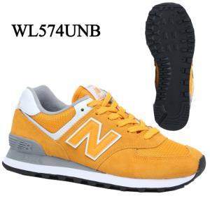 021a3dc000660 ニューバランスnew balance レディーススニーカーWL574UNB B カジュアルウォーキングシューズ靴定番YELLOW run