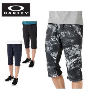 オークリー(OAKLEY) 7分丈パンツ メンズ エンハンス ダブル クロス パンツ 422571JP 【国内正規品】 run|himarayarunning
