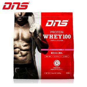 ディーエヌエス DNS ウェルネス サプリメント プロテインホエイ100 ストロベリー風味 1,000g 1kg D11001110302ST sc himarayasc