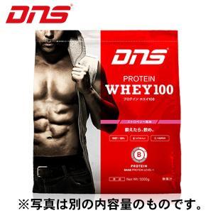 ディーエヌエス DNS ウェルネス サプリメント プロテインホエイ100 ストロベリー風味 3,000g 3kg D11001110303ST sc himarayasc
