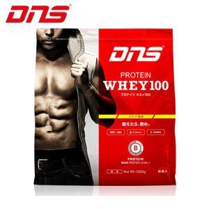 ディーエヌエス DNS ウェルネス サプリメント プロテインホエイ100 バナナ風味 1,000g 1kg D11001110402BA sc himarayasc