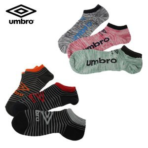 アンブロ UMBRO ソックス 3Pデザインソックス アンクル UCS8542 sc|himarayasc
