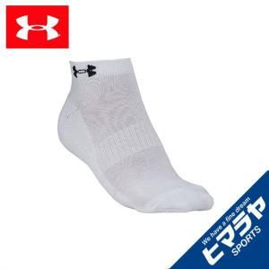アンダーアーマー 靴下 メンズ 3ピースパイルノーショーソックス 3足セット 1295332 UNDERARMOUR sc|himarayasc