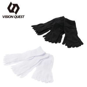ビジョンクエスト VISION QUEST 3足組ソックス メンズ レディース 3Pソックス 5指 VQ430105G01 sc|himarayasc