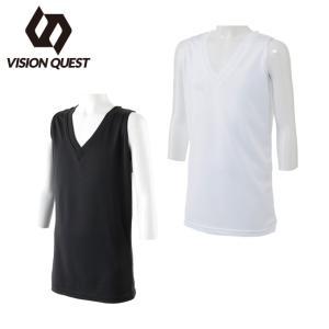 ビジョンクエスト VISION QUEST  バスケットボール ノースリーブ レディース インナーシャツ VQ570412G03  sc|himarayasc