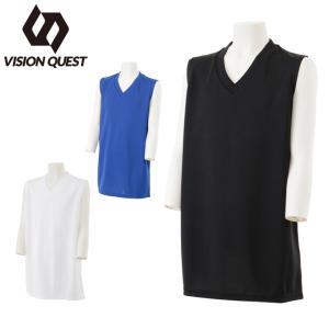 ビジョンクエスト VISION QUEST サッカーウェア 機能インナー ノースリーブ ジュニア インナーシャツ VQ540416G01 sc|himarayasc