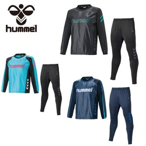ヒュンメル hummel サッカーウェア ウインドブレーカー 上下セット メンズ ピステトップ+テックパンツセット HAW4175SP sc|himarayasc