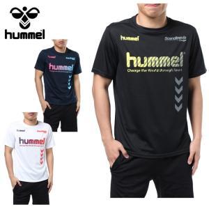 ヒュンメル hummel サッカーウェア 半袖シャツ メンズ プラクティス HAP4124HM sc|himarayasc