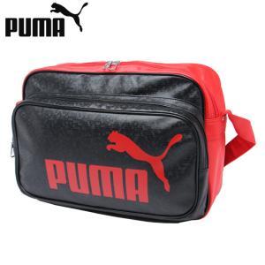 プーマ エナメルバッグ Mサイズ メンズ レディース トレーニング PUショルダー 075370-02 PUMA sc|himarayasc