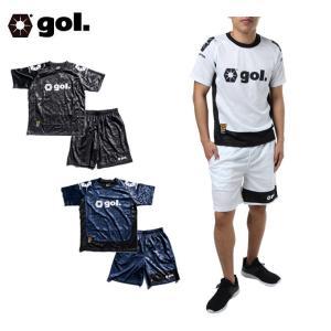 ゴル gol  サッカーウェア プラクティスシャツ 上下 セット メンズ  G856-283  sc|himarayasc
