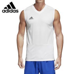 アディダス adidas サッカーウェア プラクティスシャツ 半袖 メンズ CONDIVO18 トレーニングジャージー スリーブレス BQ0194 DUB20  sc|himarayasc