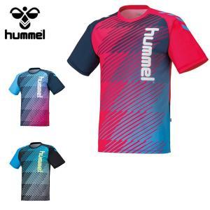 ヒュンメル hummel サッカーウェア 半袖シャツ メンズ プラクティスシャツ HAP1134 sc|himarayasc