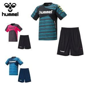 ヒュンメル hummel サッカーウェア 半袖シャツ ジュニア プラクティススーツ HJP1132SP sc|himarayasc
