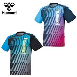 ヒュンメル hummel サッカーウェア 半袖シャツ ジュニア プラクティスシャツ HJP1134 sc|himarayasc
