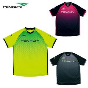 ペナルティー Penalty サッカーウェア プラクティスシャツ 半袖 メンズ グラデーションプラトップ PU8008 sc|himarayasc